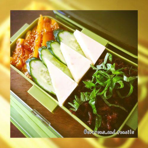 🍙🍙🍱🍱 #lunchbox #朝時間 #obentouLife #作り置き #お惣菜 #つくおき #ばんごはん #あさごはん #そとごはん #ランチ #お弁当 #てづくり #日々のこと #野菜 #野菜を食べよう #常備菜 #food #foodphoto #写真部 #レシピ #簡単レシピ #クッキングラム 186080