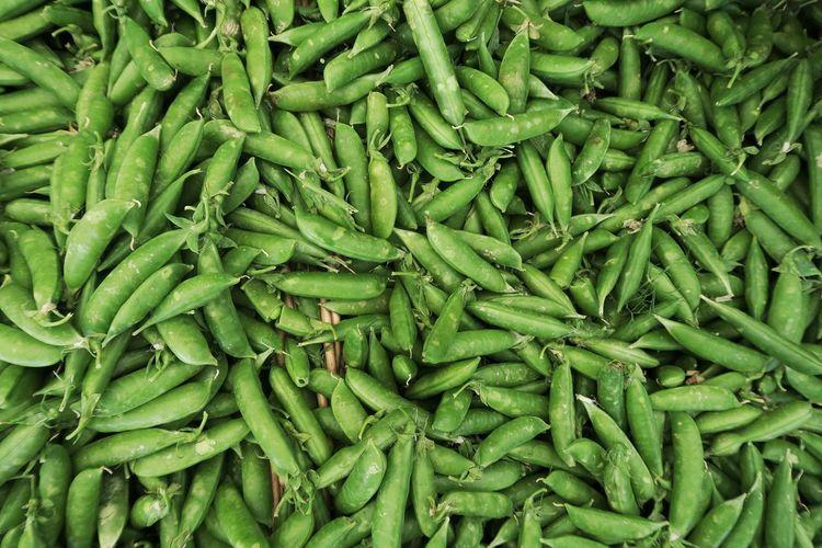 Detail shot of peas