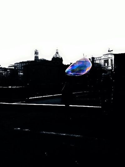 Life is a Bubble don't break it. Rome