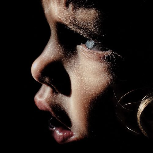 Ivy Close-up Ericimbs Human Face Portrait Headshot Girl Eric Imbs Abstract Light And Shadow