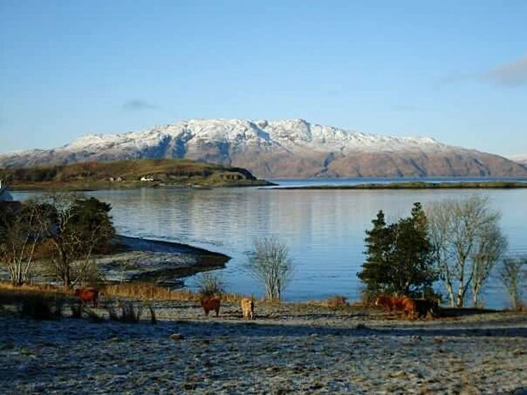 2010, Port Appin Scottish Scenery Scotland Countryside Tranquil Scene Winter Scottish Highlands Cold Temperature Port Appin