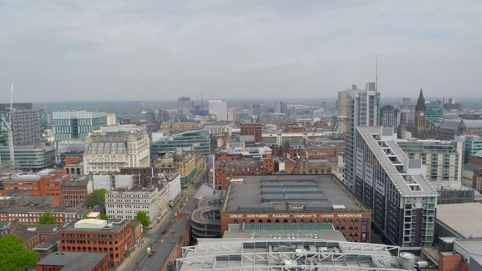 Manchester cityscape. The Architect - 2016 EyeEm Awards Cityscapes Lookingdown Cities City View  Architecture Modern Architecture Old Buildings Modern Buildings Spinningfields Deansgate Manchester Cathedral Appartments Getty X EyeEm City Street EyeEm Gallery Urban Landscape Great View View From Above Manchester England Check This Out Eye4photography