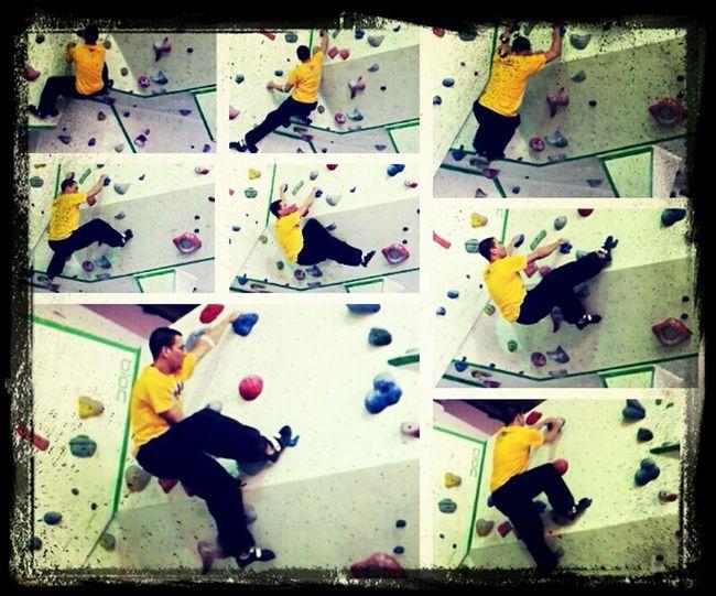 Collage Bouldering Bouldern.<3