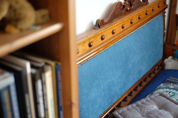 Headboard of bed