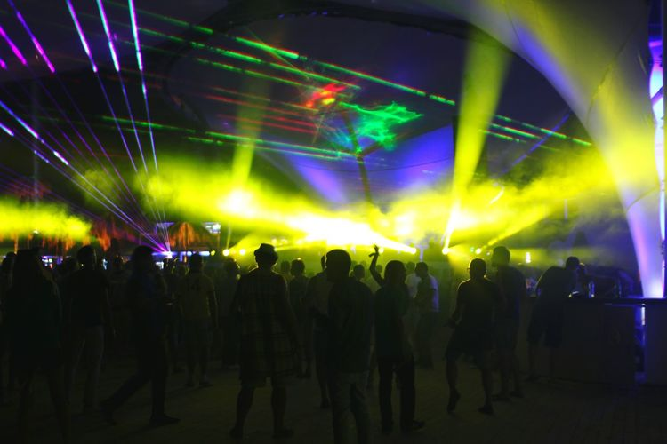 Dance Dancefloor Festival Rave Lights Summer Openair Danceforlife Music Electronic Music Night Nightlife Kazantip