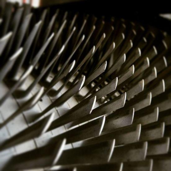 Jet Engine Blades Brooklandsmuseum