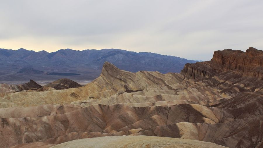Zabriskie Point Death Valley National Park a coming home of sorts...