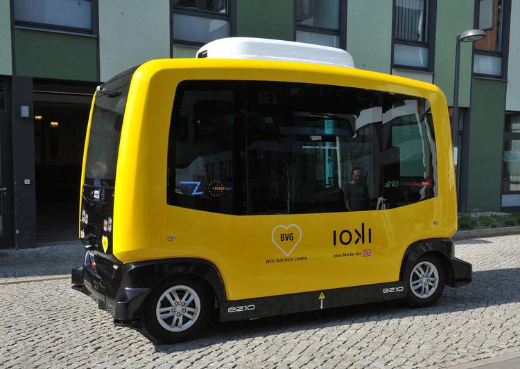 Autonomes Fahren BVG - Berliner Verkehrsgesellschaft Deutsche Bahn AG Elektromobilität Euref-Campus Gasometer Schöneberg Transport Transportation Autonomen Fahren Bus Elektroauto