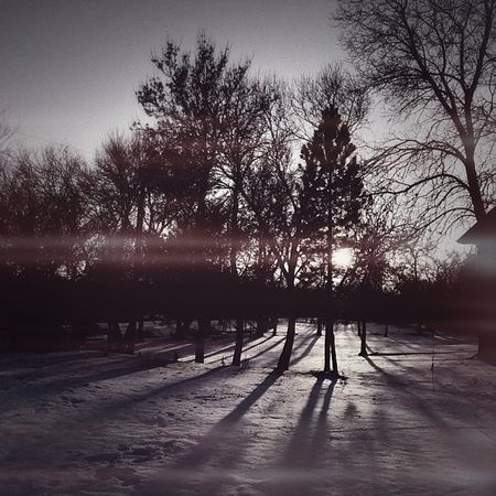 dusk #sunset #winter #nd #livelovedocument Sunset Winter Nd Livelovedocument