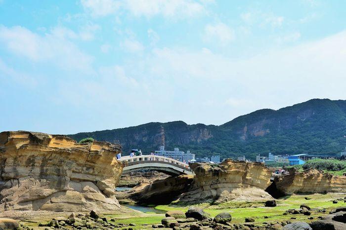 Geopark Yeliu Yeliugeopark Bridge Taiwan Nature Outdoors