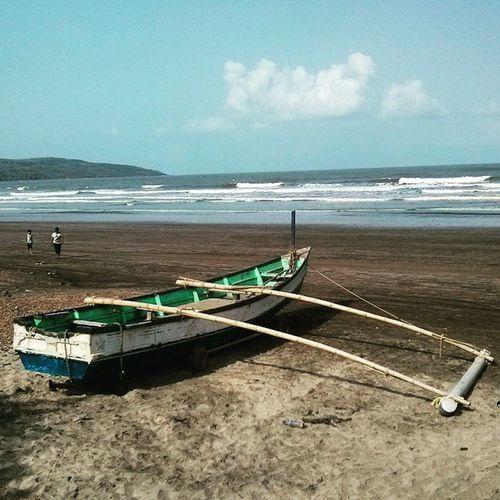 Instaclick Instagood Instapic Boat Konkan Ladghar Beach Random