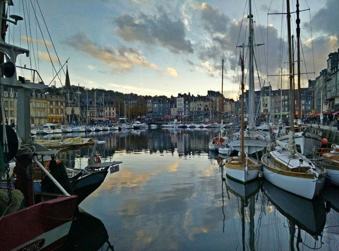 Took in Honfleur Normandy France as an hommage to the many Paintings of the city harbor.