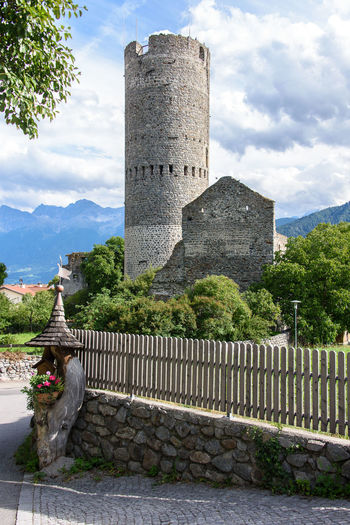 Malles Venosta - Mals Ancient Animal Animal Themes Architectural Column Architecture Building Building Exterior Built Structure Cloud - Sky Italy Nature No People One Animal Outdoors Sky South Tyrol The Past Tourism Tower Travel Travel Destinations Vinschgau