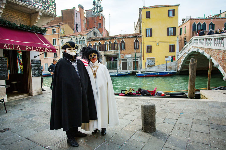 Carnival Carnivale In Venice Architecture Building Exterior Built Structure Carnival Costumes City Day Full Length Outdoors Real People Standing