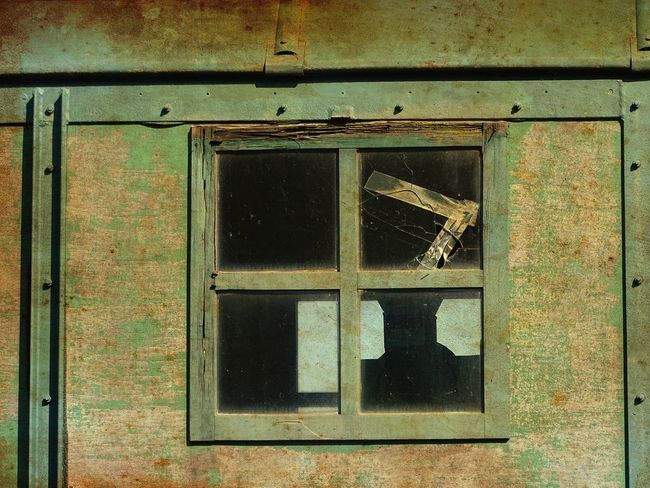 nice picture of old train wagon window Close Up Street Photography Germany Green Magdeburg Old Train Train Wagon Window