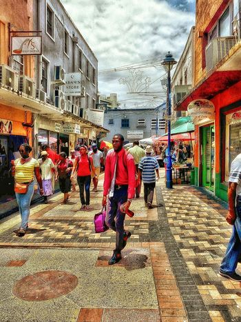 A Trek Into The Capital. Watching People People Photography Beautiful People Enjoying Life Hanging Out Hello World Beauty In Ordinary Things Man Made Structure Man Made Beauty Fine Art Photography Welcome To My World Multicolors  People Check This Out Bridgetown Barbados 2016 Walking Around The City  Color Explosion