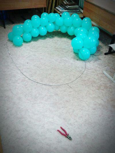 воздушные шарики сердечко💙 половинка