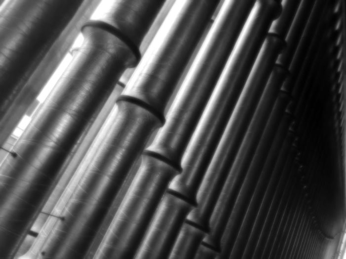Architectural Feature Outdoors Artist Metal Backgrounds Pattern Full Frame Pipe - Tube No People Textured  Close-up Steel Day Indoors  Corrugated Iron
