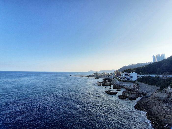 Busan coastline