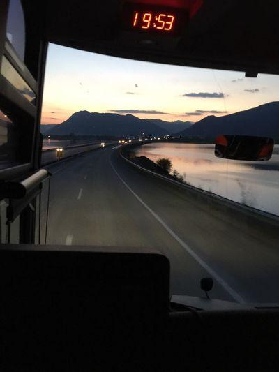 Yolculuk Doğa Yollarda Otobus