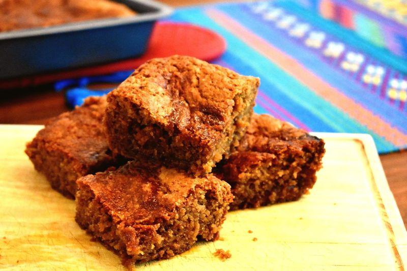 Blondies Vanillabrownies Food Baked Goods Sweet Food Baked Dessert