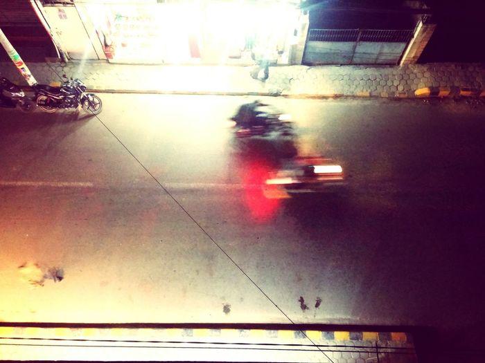 Transportation Night City Outdoors Illuminated EyeEm Gallery MotionCapture Transportation Street Life