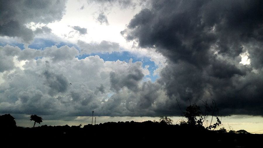asdfghjk Paisaje Nubes Cielo Nublado Azul