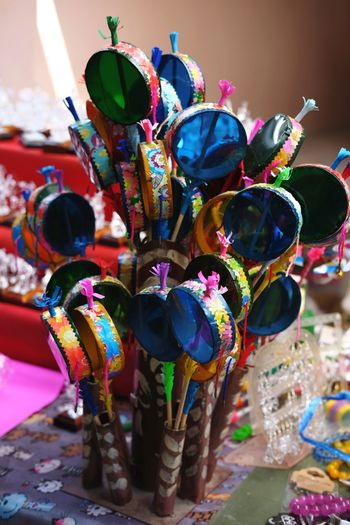 Multi Colored Travel Destinations No People Day Outdoors Astrology Sign Thailand Nontaburi Thai Folktoys Thaifolktoys Handmade Crafts Percussion Percussions Percussion Instrument