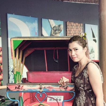 Me Myself Iam I MyPicture Photo Picture Of Becak Oldtransportation Instapic INDONESIA Look Niceview Travel Jalanjalan