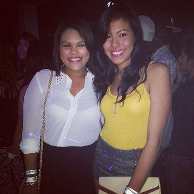 Festa club junto a una linda shorty @larivallarino Buenanoche Eaaaaaaaaa