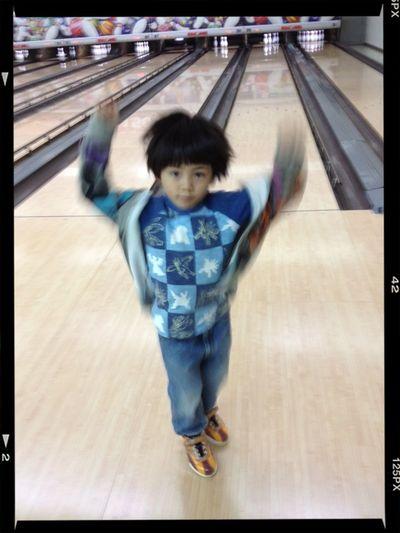"Bowling Eye4photography  Cool Eye's ""どやっ!!"" A Smug Face"