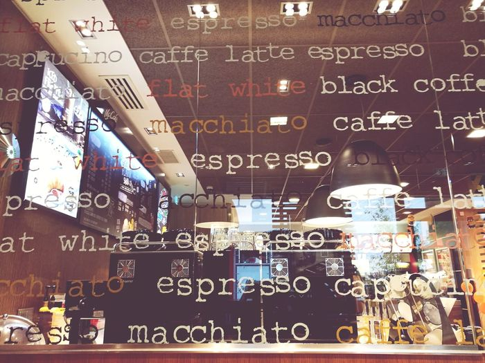 Just coffee writings on a glas wall. Text No People Indoors  Day Close-up Technology Sorting Of Coffee Soft Filter HuaweiP9 Plus Photography The Week On EyeEm EyeEmNewHere Writing On Glass Brown Collor Letters. Behind The Glass Wall The Creative - 2018 EyeEm Awards The Still Life Photographer - 2018 EyeEm Awards