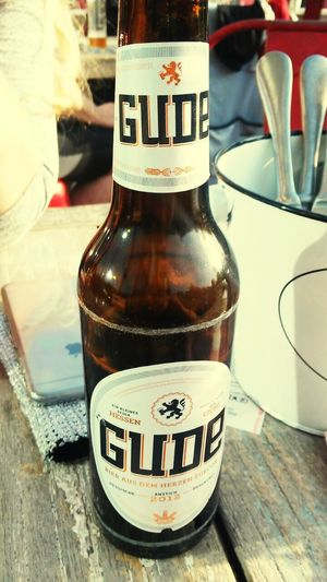 Gude Bier Beer IPhoneography Check This Out Hi! Relaxing Enjoying Life Iphone5s Eye4photography
