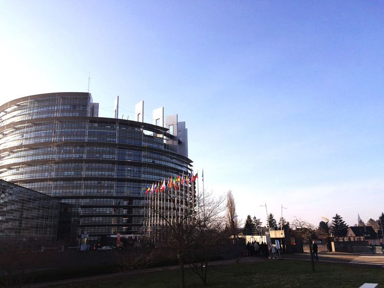 Strasbourg Parlementeuropéen European Union Europe European Parliament France Germany