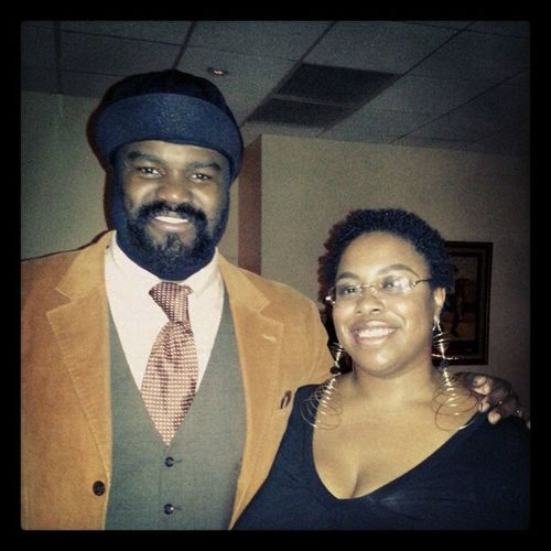 Gregoryporter from the Jazzbistro on January 6th.