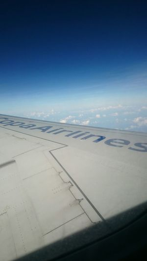 From An Airplane Window Wing Copa America