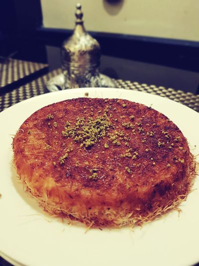 Sweet Knafa Knafeh Close-up Sweet Food Food And Drink Dessert