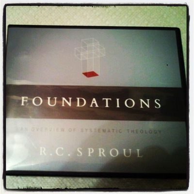 Foundations :An Overview of Systematic Theology by RC Sproul. Biblestudy Theology Church Christianity rcsproul Jesus God bible