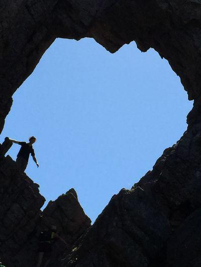 Trou de la bombe Corse Corsica Col De Bavella