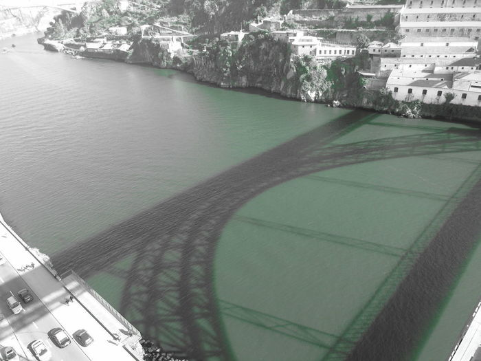 Bridge shadow,