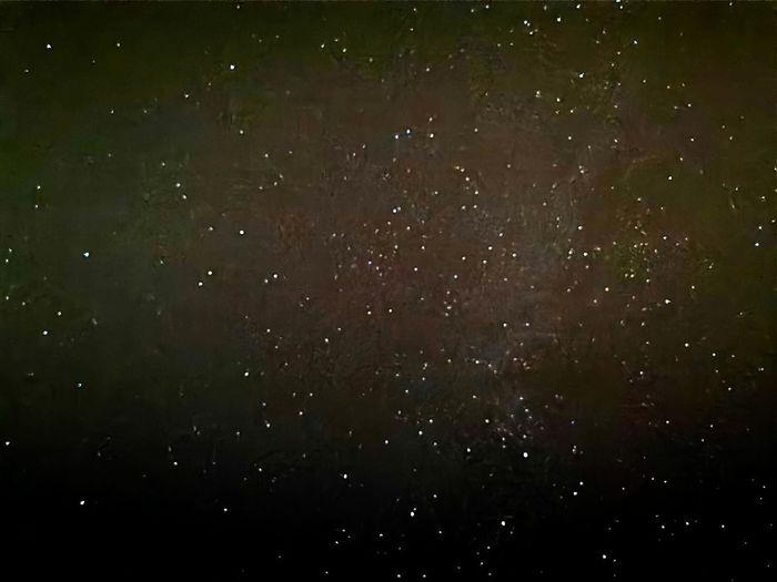 Full frame shot of raindrops on star field