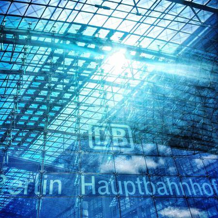 Berlin Hauptbahnhof Train Station Transportation Transport Travel Germany Architecture Glass Structural Steel Building Landmark