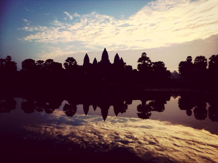 Angkor Wat - Cambodia Water_collection Temple Traveling Sunrise
