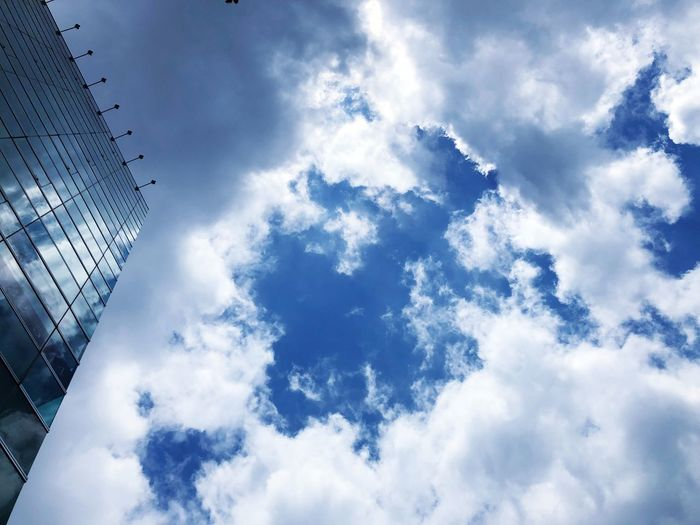 Cloud - Sky Sky Low Angle View Nature Day Built Structure Architecture