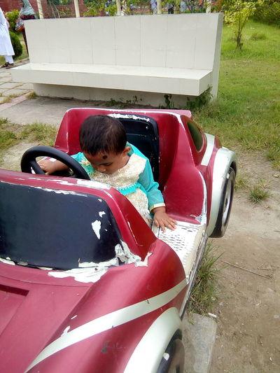 Child Playing Child Playground Mini Car Little Girl Littleboy Child Play Park Life First Eyeem Photo