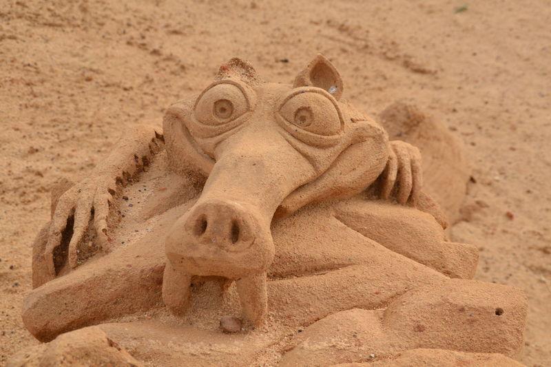 Sculpture Sand Sculptures Sand Imagination Sand Sculpture Sand Sculpture Park Ice Age Scratch Skratch