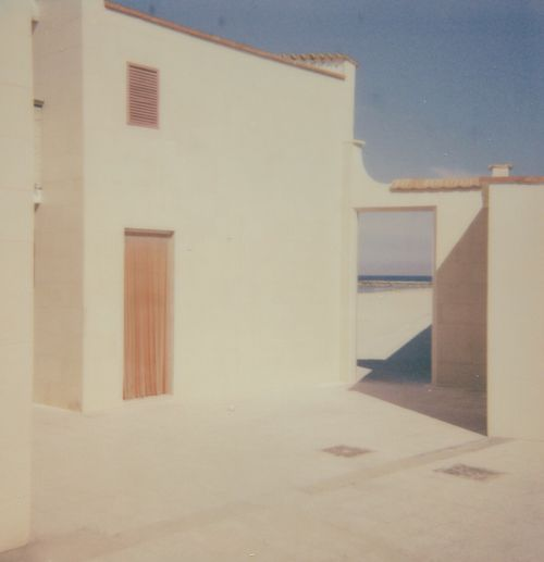 Minimalistic Architecture Built Structure Building Exterior No People Minimalist Minimalobsession Minimal Polaroid Analogue Photography Analog Light Warm Colors Warm Outdoors Italy South Italy Composition