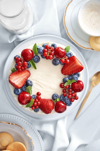 Fruit cake with