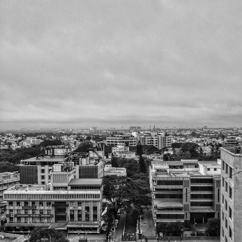 Skyline Bangalore. Architecture Building Exterior Built Structure No People Cityscape Outdoors Sky Day City Morning Light EyeEm Selects EyeEmNewHere