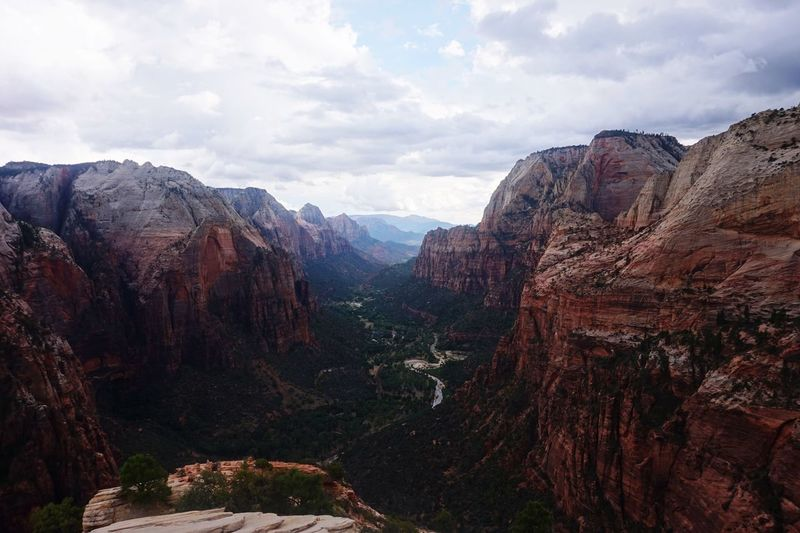 Zion National Park Against Sky